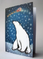 Christmas card - Polar bear